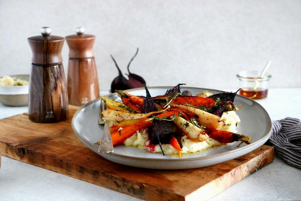 Maple Roasted Vegetables - Peugeot Saveurs